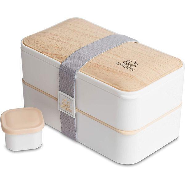 Bento blanc bambou UMAMI | Vivre-Bambou.com