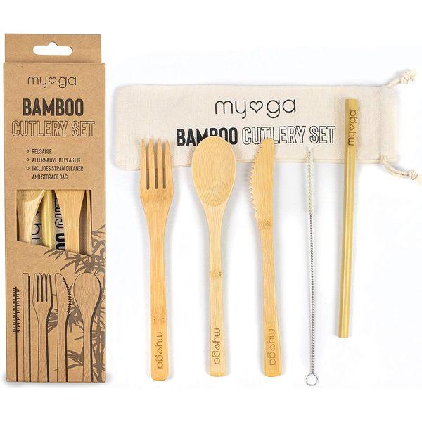 Couverts en bambou pour le bureau | Vivre-Bambou.com