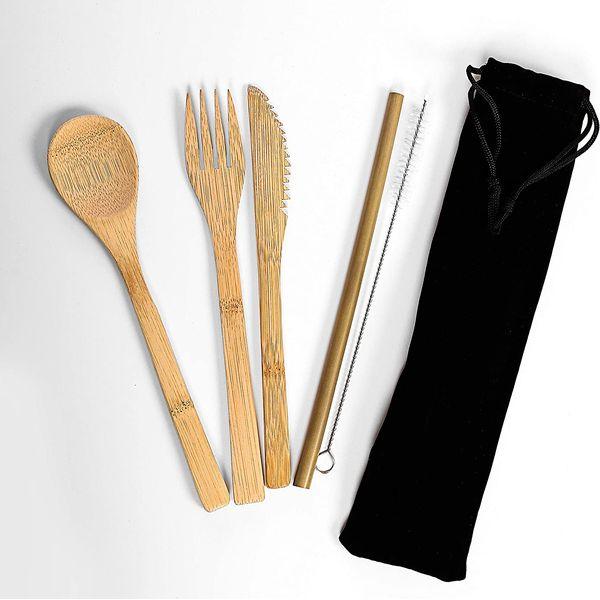 Couverts en bambou | Vivre-Bambou.com