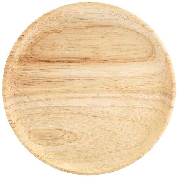 Grande assiette 27cm en bambou brut | Vivre-Bambou.com