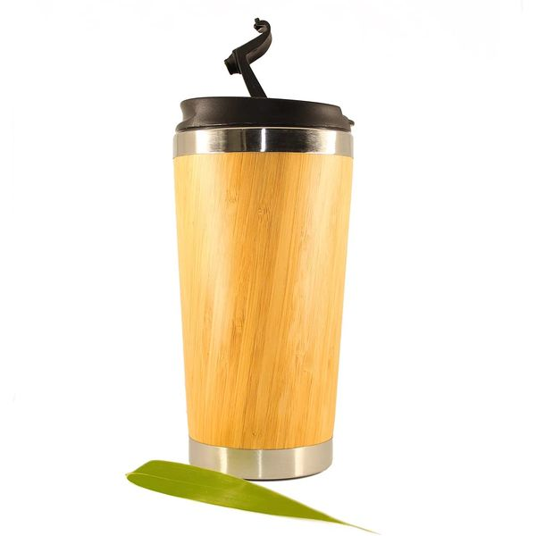 Mug isotherme en bambou | Vivre-Bambou.com
