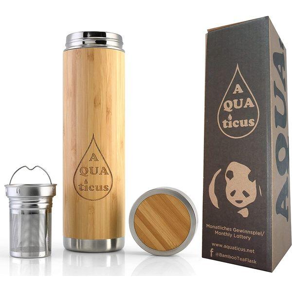 Théière isotherme en bambou | Vivre-Bambou.com