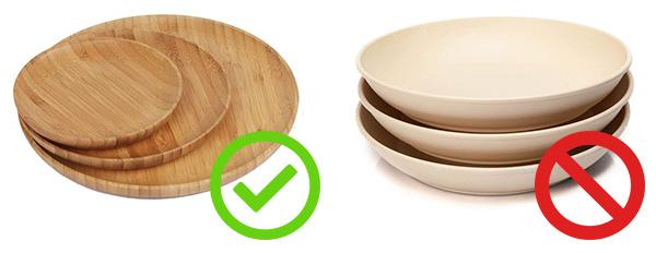 Comment reconnaitre la vaisselle en bambou brut ?   Vivre-Bambou.com